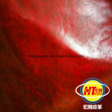 The Newest Durable PVC Synthetic Leather for Sofa Furniture Chairs (Hongjiu-1702#)