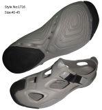 Grey Men Sport Sandals, EVA Two Tone Running Sandals