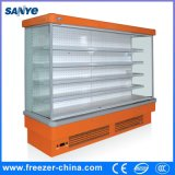 Refrigerated Supermarket Fruit Display Cabinet for Meat and Dairy