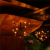 Outdoor Waterproof LED Explosion Ball String Light Decorative Warm White Light