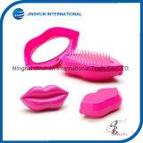 Plastic Creative Portable Antistatic Health Care Massage Lips Comb