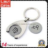 Customized Metal Trolley Coin with Simple Logo