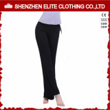 Comfortable Yoga Pants Soft Leggings Black (ELTLI-62)