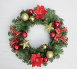 Wedding and Christmas Wreaths for Home&Holiday Decoration