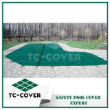 Blue PP Plastic Pool Mesh Safety Cover