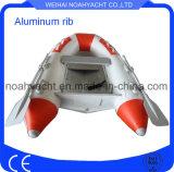 2 People Aluminum Rigid Inflatable Boat Fishing Boat