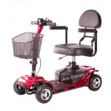 Four Wheel Disabled Electric Mobility Scooter with Taiwan Motor