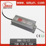 75W Constant Current LED Switching Power Supply 6.25A 12V
