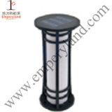 Aluminum Bollard 1W Solar Lawn Light (DZ-CT-210)
