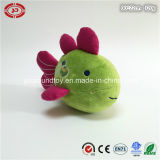 Green Fish with Pink Fins Tail Soft Plush Stuffed Toy