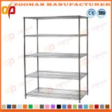 Wire Shelving Unit Garage Storage Racking Wall Shelves Wholesale (Zhw144)