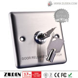 Stainless Steel Access Control System Key Switch Door Release Button