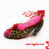 Red Plush Shoe Model Toy