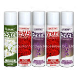 Many Different Fragrance Aerosol Air Freshener Spray for Cleaning Air