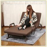 Spacespace Saving Folding Bed/Sofa Bed with Coffee Color Mattress 190*100cm