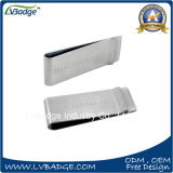 Promotional Cheap Metal Clip with Laser Logo