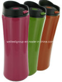 14 Oz Clicker Travel Mug BPA-Free (CPBZ-4084)