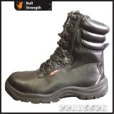 High Quality Best Price Black Army Boot (SN1356)
