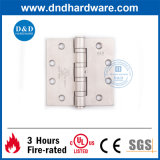 SS304 UL Butt Hinge 4.5X4.5X4.6 4bb for Heavy Duty Door