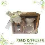 2016 New Design Popular Ceramic Essential Oil Perfume Burner Reed Diffuseur Sets, Fragrance Oil for Air Freshener Dispenser