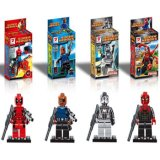 Mini Figures Blocks Super Heroes Figures Block