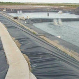 Black HDPE Geomembrane for Fish Pond Liner