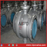Cast Steel Two Pieces Trunnion Ball Valve