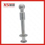 Stainless Steel 316 Hygienic Tri Clamp CIP Revolving Spray Ball