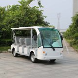 Wholesale Manufacturers White 14 Seaters Electric Sightseeing Car (DN-14)