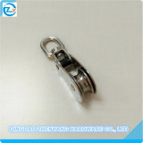 Stainless Steel Swivel Pulley Block with Single Sheave