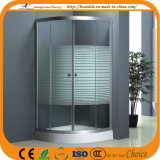 Stripe Glass Shower Enclosure (ADL-8012C)