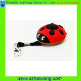 Ladybug Personal Alarm Mini Alarm for Girl Kids Hw-3202