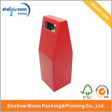 Red Cardpaper Box with Handle Customized Box