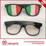 Wayfarer Style Sunglasses with National Flag Sticker for Promotional Gift