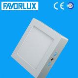 High Lumen 18W LED Ceiling Light, Square Surface Mounted LED Panel Light
