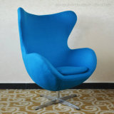 Factory Supply Leisure Arne Jacobsen Fabric Swivel Egg Chair (SP-HC169)