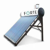 Low Solar Water Heater with Import and Export