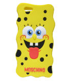 Funny Yellow DOT Spongebob Silicone Phone Case for Samsung Galaxy A3 A5 A7 E5 E7 (XSR-024)