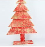Decorative Artificial Wooden Tree Wood Craft for Xmas