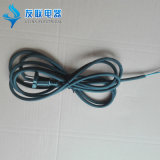 2pins European Power Cord with Rubber Cable (JT002)