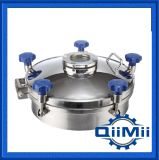 Sanitary Regular Pressure Round Stainless Steel Ss304/Ss316L Manhole Cover