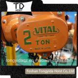 1 Ton 3 Meter Hand Chain Block Operated Heavy Duty Vital Chain Block