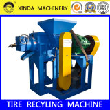 Cqj Rubber Chip Grinder Tire Crusher Automatic Tyre Recycling Plant