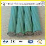 High Tensile Unbonded Prestressed Cable 1860MPa From China Factory