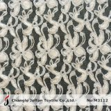 Textile Apparel Cotton Lace Fabric (M3112)