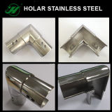 SS304 Stainless Steel Connecting Elbow for Slotted Tube Railing System
