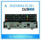 DVB-S2+DVB-S2/S2X/T2/C Triple Tuners Zgemma H. 2s Plus Satellite Decoder Linux OS Enigma2 Media Player