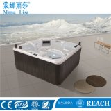 Free Standing Square Deluxe Aqua Hydro Air Jets Whirlpool Massage Balboa Control Aristech Acrylic SPA Bathtub (M-3349)