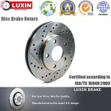 Performance Brake Disc Drilled & Slotted