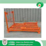 Folding Steel Logistics Cage for Warehouse by Forkfit